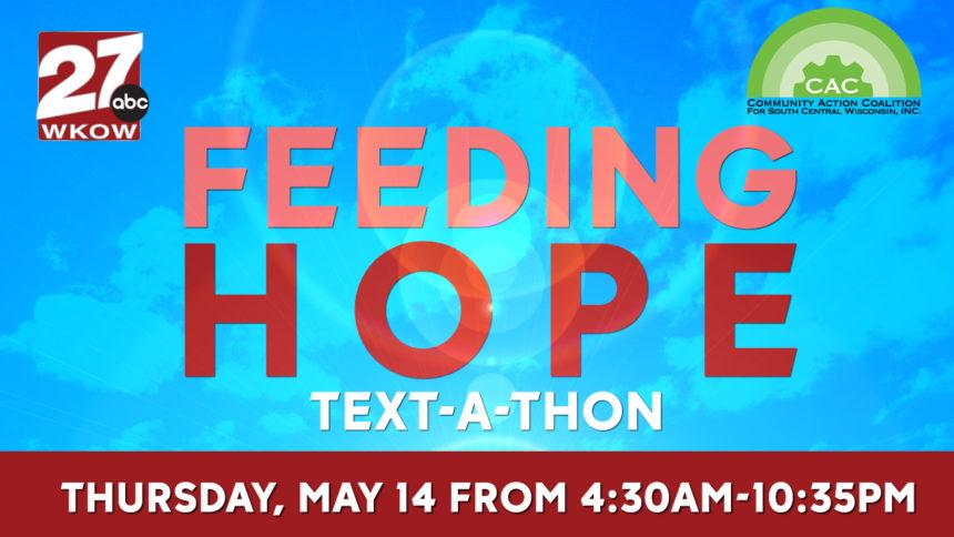 feeding hop text a thon logo